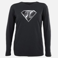 Pi day Plus Size Long Sleeve Tee