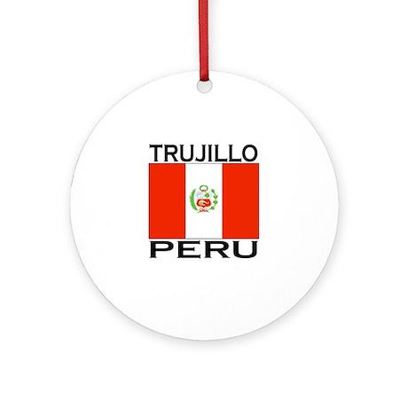 Trujillo, Peru Ornament (Round)