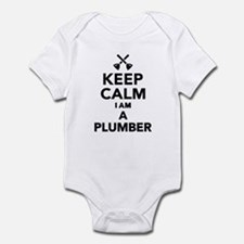 Keep calm I'm a Plumber Infant Bodysuit