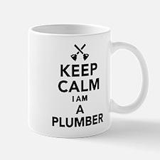 Keep calm I'm a Plumber Mug