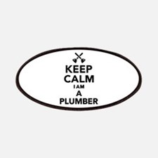 Keep calm I'm a Plumber Patch