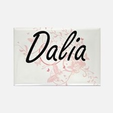 Dalia Artistic Name Design with Butterflie Magnets