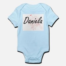 Daniela Artistic Name Design with Butter Body Suit