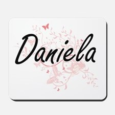 Daniela Artistic Name Design with Butter Mousepad
