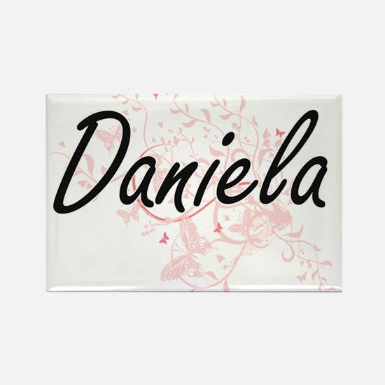 Daniela Artistic Name Design with Butterfl Magnets