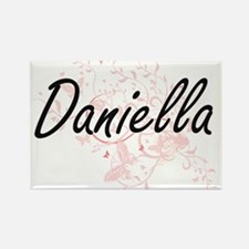 Daniella Artistic Name Design with Butterf Magnets