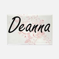 Deanna Artistic Name Design with Butterfli Magnets