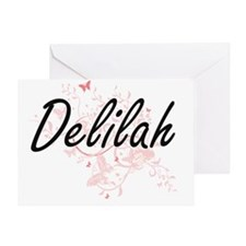 Unique Delilah Greeting Card