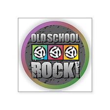 Old School Rock Sticker