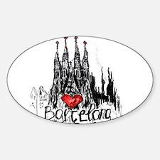 I love Barcelona Decal