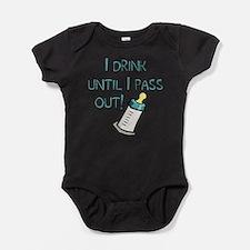 Cute Milking Baby Bodysuit