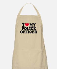 I love my police officer Apron