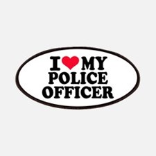 I love my police officer Patch