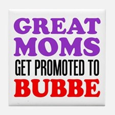 Promoted To Bubbe Drinkware Tile Coaster