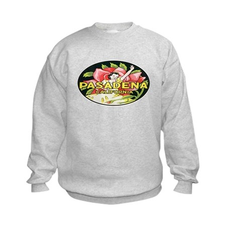 Retro Rose Parade Kids Sweatshirt