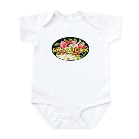 Retro Rose Parade Infant Bodysuit