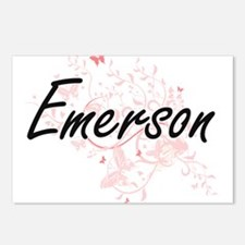 Emerson Artistic Name Des Postcards (Package of 8)