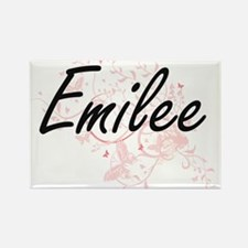 Emilee Artistic Name Design with Butterfli Magnets