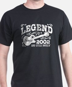 Legend Since 2002 T-Shirt