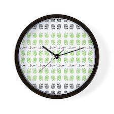 Hoo Hoo Wall Clock