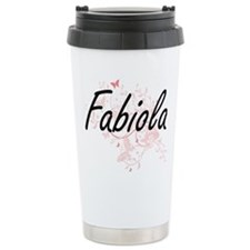 Fabiola Artistic Name D Travel Mug
