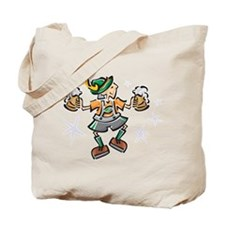 Dancing German Man Tote Bag