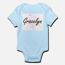 Gracelyn Artistic Name Design with Butte Body Suit