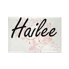 Hailee Artistic Name Design with Butterfli Magnets
