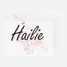 Cute Hailie Greeting Card