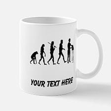 Keyboard Player Evolution (Custom) Mugs