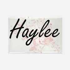 Haylee Artistic Name Design with Butterfli Magnets