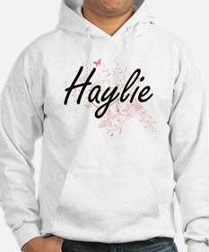 Haylie Artistic Name Design with Jumper Hoody