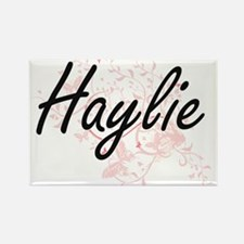 Haylie Artistic Name Design with Butterfli Magnets