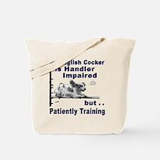 English Cocker Agility Tote Bag