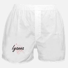 Iyanna Artistic Name Design with Butt Boxer Shorts