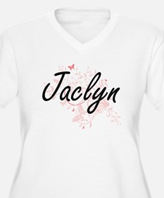 Jaclyn Artistic Name Design with Plus Size T-Shirt