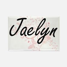 Jaelyn Artistic Name Design with Butterfli Magnets
