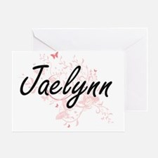 Cute Jaelynn Greeting Card
