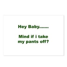 Take my pants off Postcards (Package of 8)