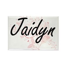 Jaidyn Artistic Name Design with Butterfli Magnets