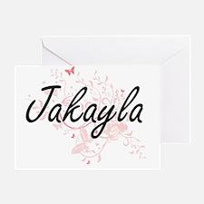 Cute Jakayla Greeting Card