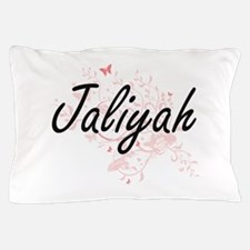 Jaliyah Artistic Name Design with Butt Pillow Case
