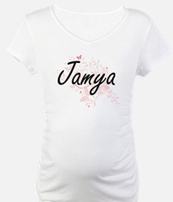 Jamya Artistic Name Design with Shirt