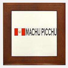 Machu Picchu, Peru Framed Tile