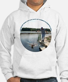 COOLING OFF AT THE LAKE Hoodie