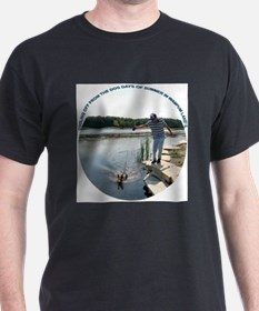 COOLING OFF AT THE LAKE T-Shirt