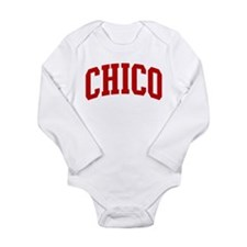 Funny Chico Long Sleeve Infant Bodysuit