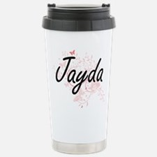 Jayda Artistic Name Des Travel Mug