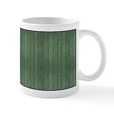 Green Wood Mug