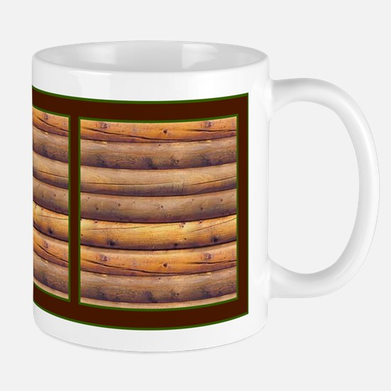 Log Wall One Mug